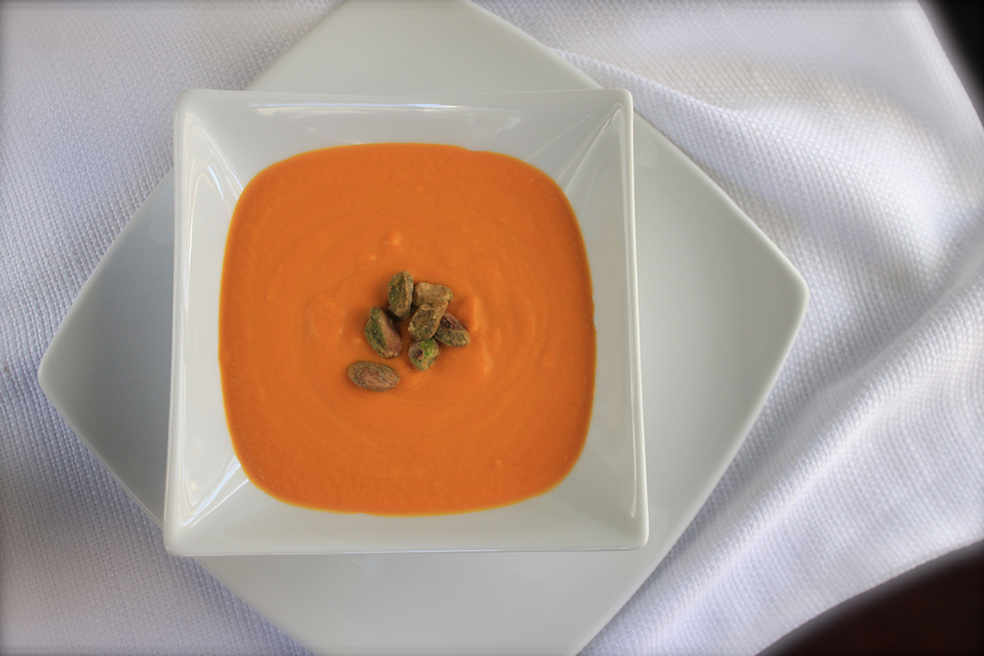 the silkiest carrot soup. ever.