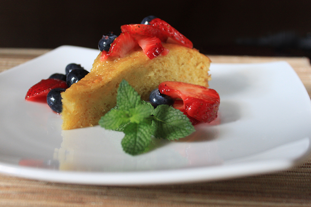 Blood Orange Olive Oil Cake Recipe | Bistro OneSix