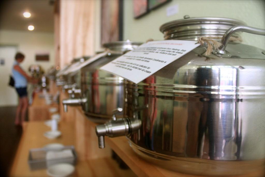 Olivin silver casks