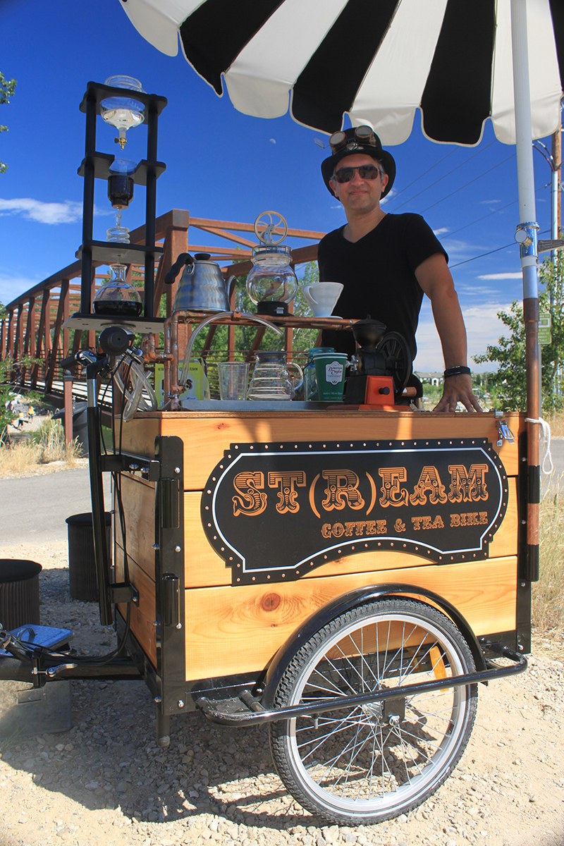 St{r}eam Coffee & Tea Bike