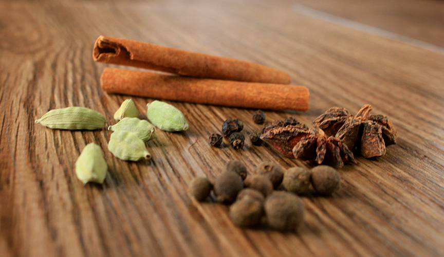 Herbal chai spices