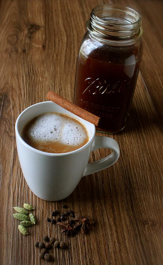 homemade herbal chai