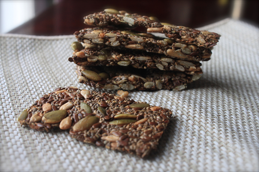 how to make crackers crispy again