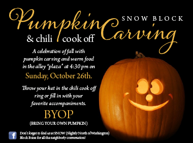 pumpkin carving invite