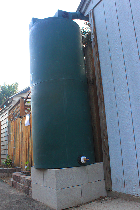 now that's a rain barrel!