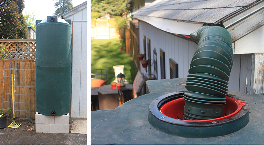 rain-barrel-installed