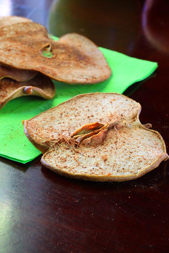 No Sugar Pumpkin Spiced Apple Chips | Bistro OneSix