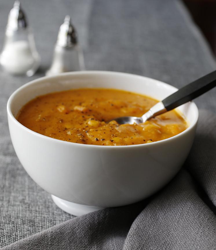 chipotle yam and corn chowder