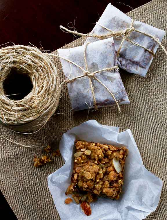 Mom's Jam Bars | Bistro OneSix