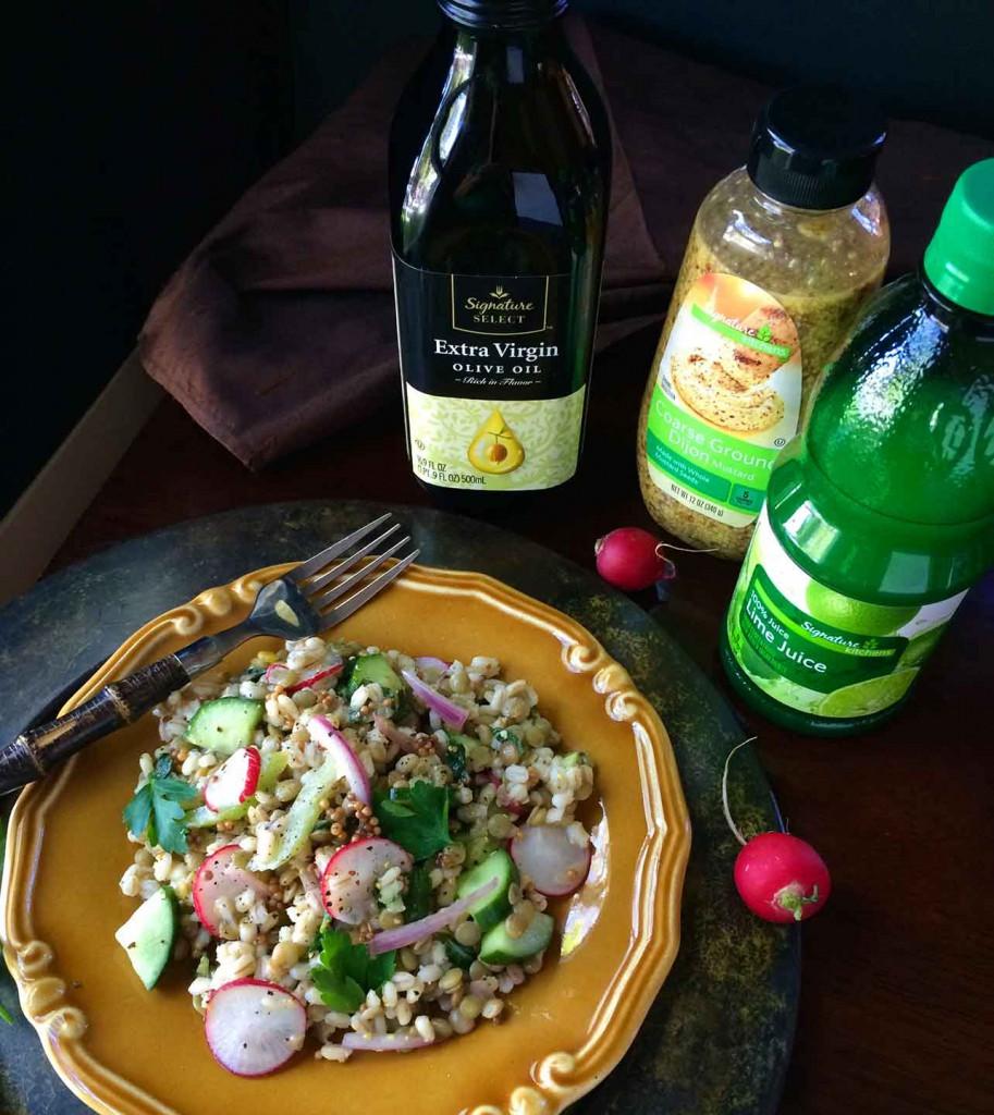 Lentil & Pearl Barley Spring Salad