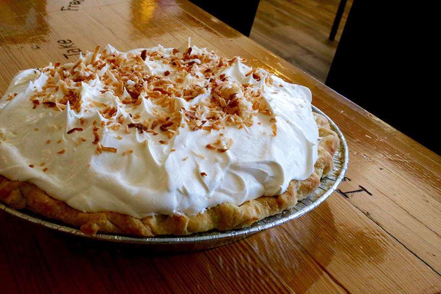 Owyhee Restaurant – Cream Pie