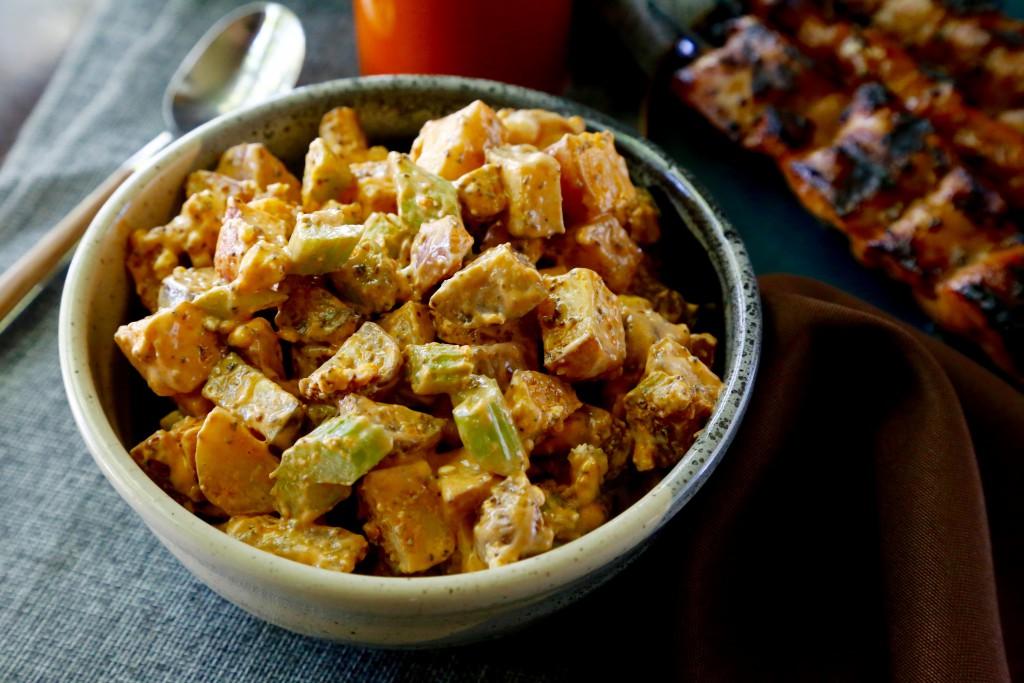 Buffalo Potato Salad   Bistro OneSix