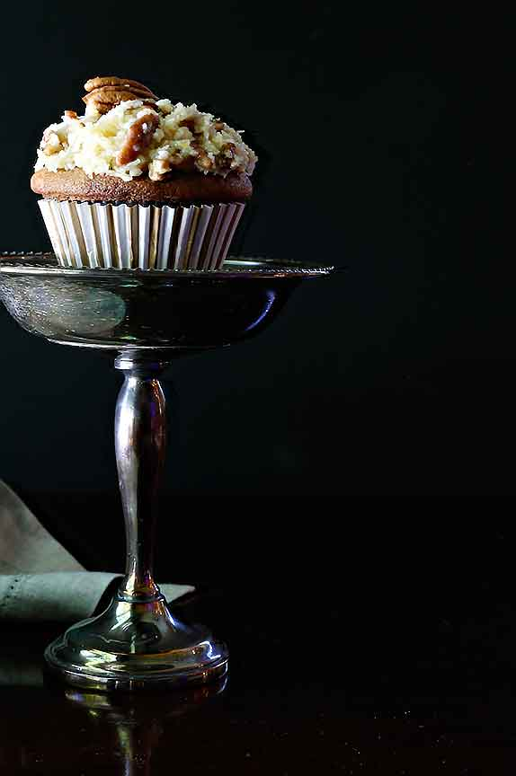 German Chocolate Cupcake | Bistro OneSix