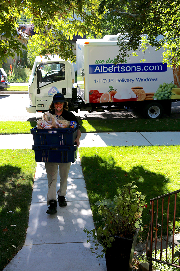 Albertsons Home Grocery Delivery - Garrett
