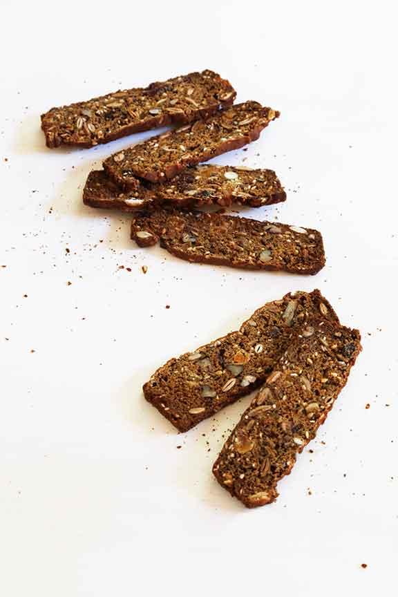 Teff Rosemary Nut Crackers