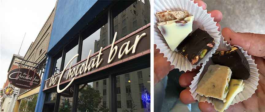 Indulge Boise Food Tours – Chocolate Bar