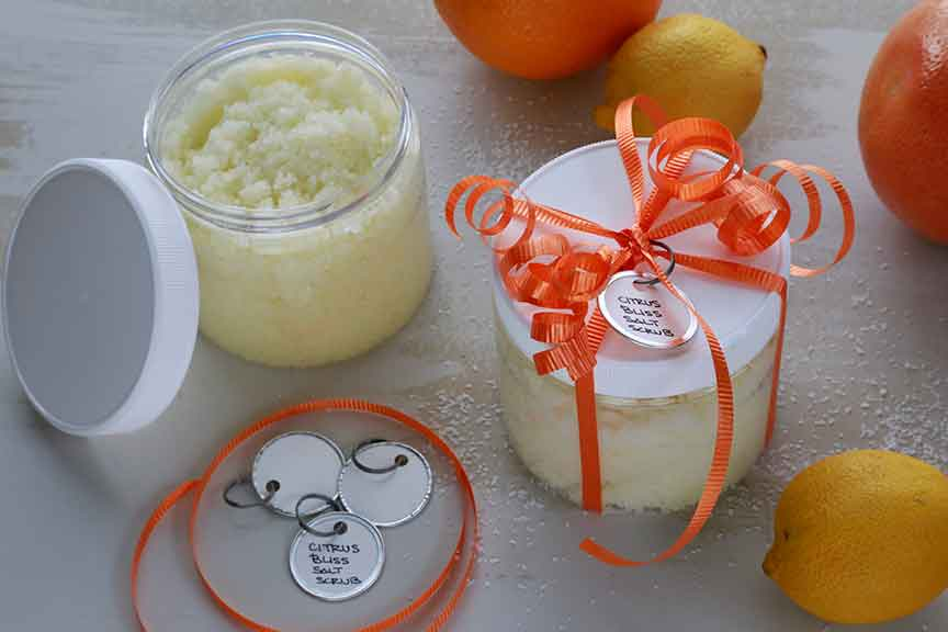 citrus bliss salt scrub
